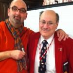 Larry Elman & me